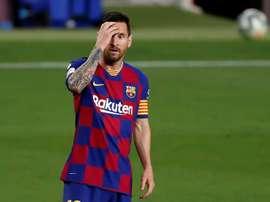 Marotta negou o interesse em Messi. EFE
