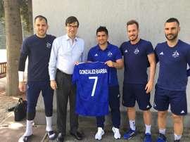 José Perales deja el equipo georgiano. EFE