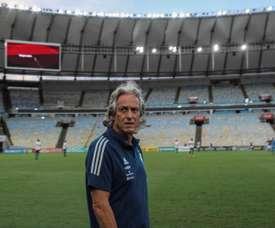 Jorge Jesus, praised on his return to Benfica. EFE