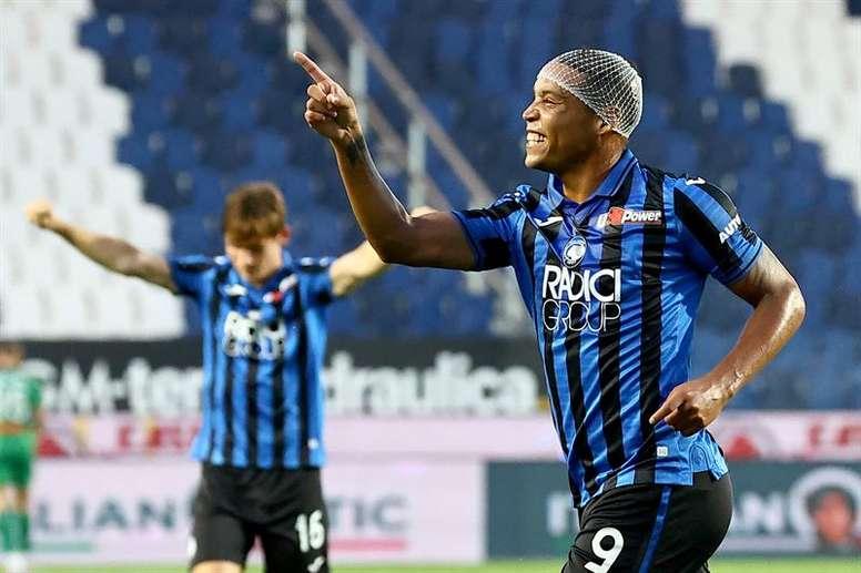 Muriel es el cuarto máximo goleador de la Serie A. EFE