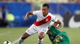 Renato Tapia engrosa la lista de peruanos. EFE