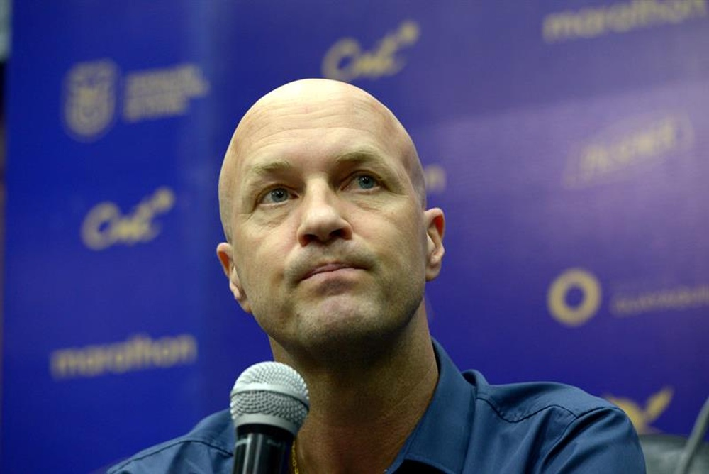 Jordi Cruyff has made an agreement to leave China. EFE/Marco Pin