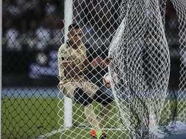 Barcelona y Guayaquil City empatan en un duelo de prueba. EFE/Antonio Lacerda/Archivo