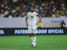 Bryan Ruiz volvió a Costa Rica. EFE