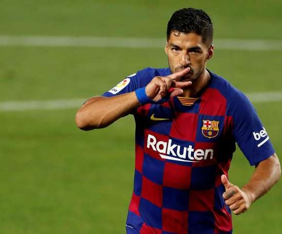 A MLS só pensa em Suárez. EFE