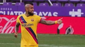 Arturo Vidal devrait rester au Barça jusqu'en 2021. efe