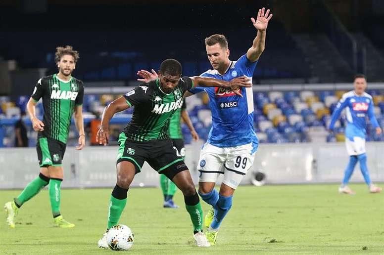 La Juve alcanza un acuerdo con Milik. EFE