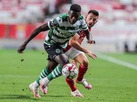 O Real Madrid perguntou por Nuno Mendes, uma promessa do Sporting. EFE