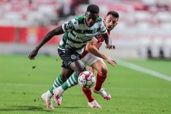 Nuno Mendes dans le viseur de Manchester United. EFE
