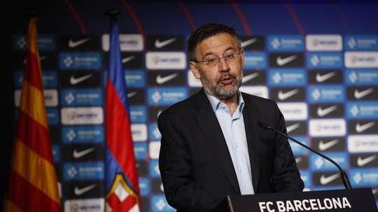 Bartomeu parla el futuro di Messi. EFE