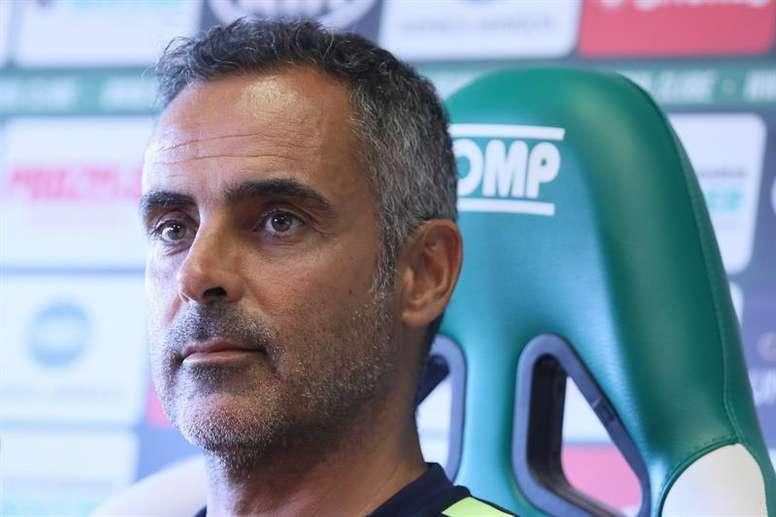 José Gomes cree que el Albacete saldrá a morder. EFE