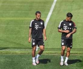 El Bayern no exige una gran cantidad para dejar salir a Thiago. EFE