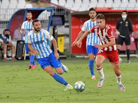 An Almeria player has tested positive for coronavirus. EFE