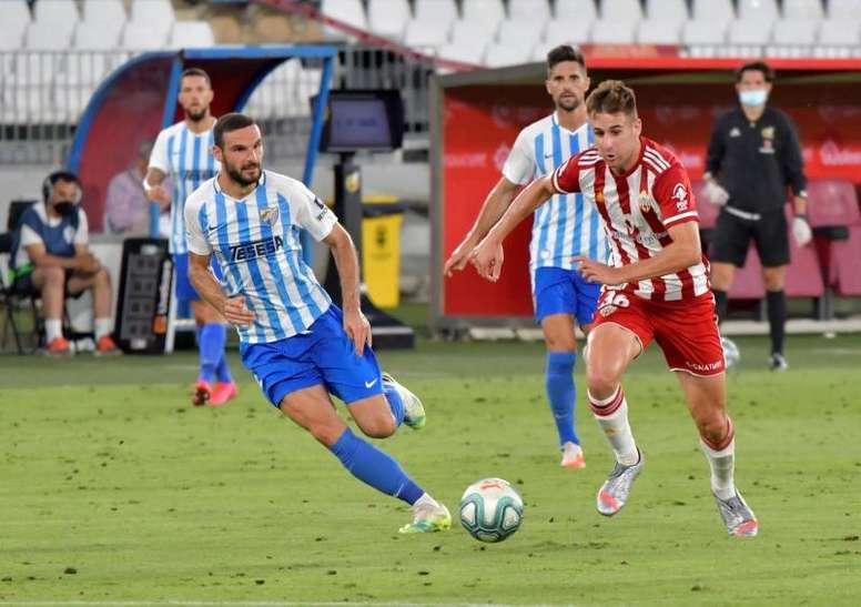An Almeria player has tested positive for coronavirus. EFE