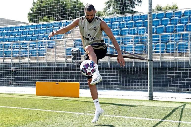 Benzema vorrebbe allenare. EFE
