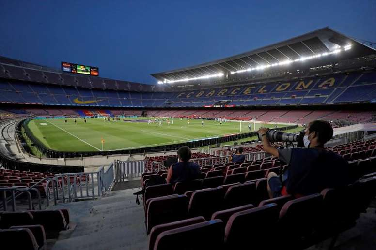 The match will take place at the Camp Nou. EFE
