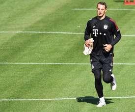 Neuer recordó la derrota de Alemania ante México. EFE/EPA/PHILIPP GUELLAND/File