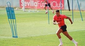 El Sevilla pone precio a Diego Carlos. EFE