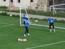 Bolívar volvió a los entrenamientos de cara a la Libertadores. EFE