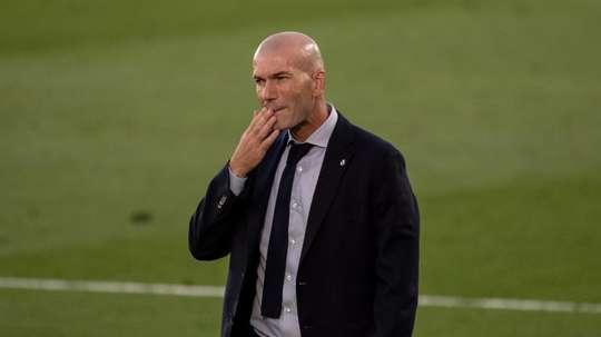 Veja o que espera Zidane no jogo dessa noite. EFE/Rodrigo Jiménez