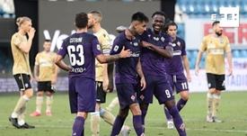 La Fiorentina le ganó al SPAL. EFE