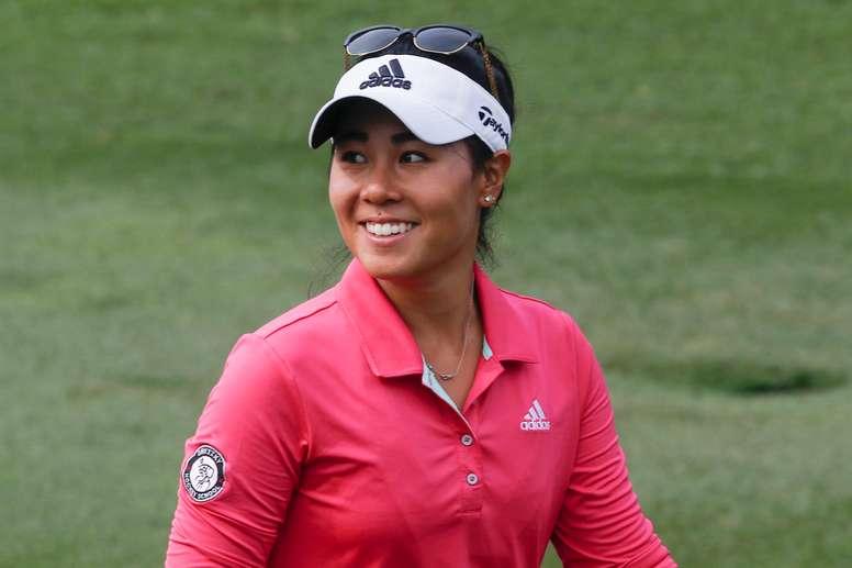 En la imagen un registro de la golfista estadounidense Danielle Kang, quein se impuso este domingo en el torneo LPGA Drive on Championship, disputado en Toledo (Ohio, EE.UU.). EFE/Ahmad Yusni/Archivo