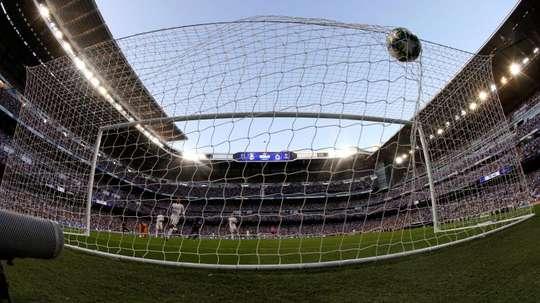 LaLiga se queda con pocos goles. EFE