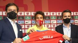 Luis Milla, agradecido y orgulloso. EFE