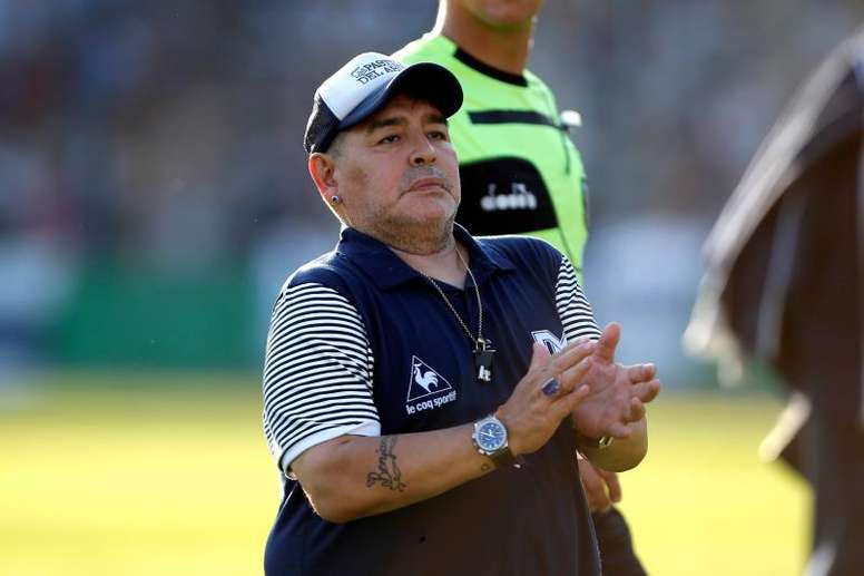 Maradona ve a Boca Juniors con muchas opciones en la Libertadores. EFE