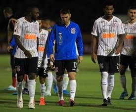 La tensión y las patadas alejan los goles de la final del Paulista. EFE