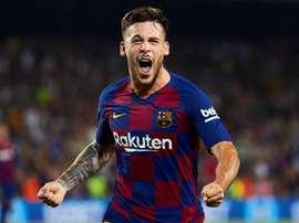 Carles Pérez aún no se explica por qué el Barça le invitó a salir. EFE
