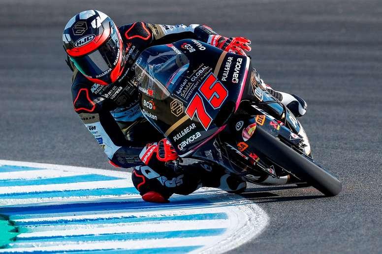 El piloto español de Moto3 Albert Arenas. EFE/Román Ríos/Archivo