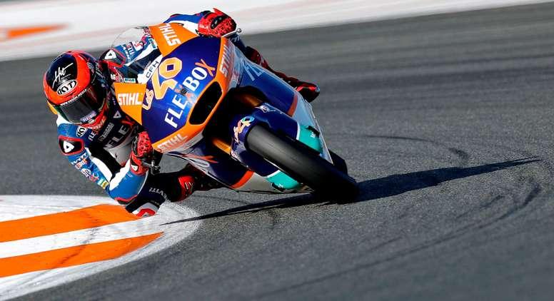 El piloto español de Moto2 Augusto Fernández EFE/Manuel Bruque/Archivo
