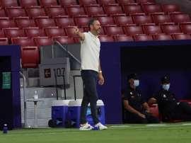 El Espanyol quiere al técnico del Mallorca al frente. EFE