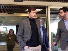 Casillas cuelga los guantes y la AFE tuvo un detalle con el portero. EFE