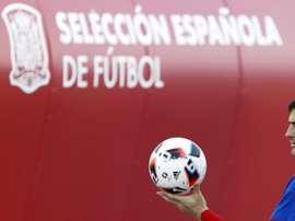 La Selección Española despidió a Iker con honores. EFE
