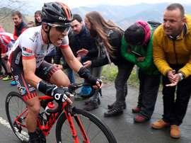 El ciclista Ibai Salas. EFE/Javier Etxezarreta/Archivo