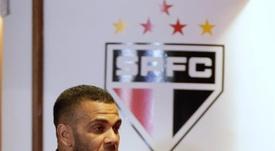 Daniel Alves vive momento turbulento no São Paulo. EFE/Fernando Bizerra Jr/Arquivo