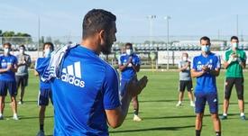 Luis Suárez analizó su situación antes de marcharse. EFE