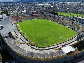 El fútbol ecuatoriano supera con nota el primer simulacro. EFE