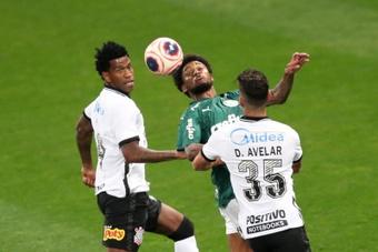 Qual a escalação do Corinthians contra o Palmeiras.EFE