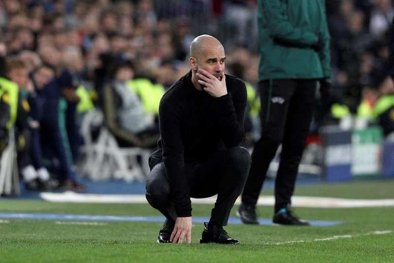 Guardiola analizza la sfida contro il Real. EFE