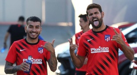 Diego Costa analizó la eliminatoria. EFE
