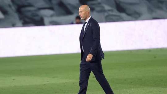 Zidane potrebbe essere il nuovo allenatore della Juve. EFE