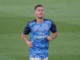 Une première saison tronquée par les blessures pour Hazard. EFE