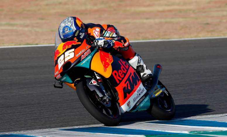El piloto español de Moto3 Raúl Fernández. EFE/ Román Ríos/Archivo