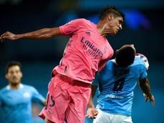 El Madrid no pudo remontar al City en Mánchester. EFE/EPA