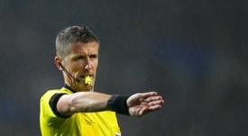 Daniele Orsato will referee the Europa League quarter-final. EFE