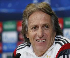 Jorge Jesus could be suffering from a respiratory infection. EFE