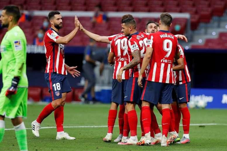 Las alineaciones probables del RB Leipzig-Atlético de Madrid. EFE